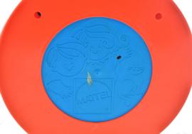 """Vintage """"See and say clock"""" Nederlands sprekende of pratende klok van Mattel"""