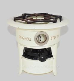 Estufa de parafina de un quemador vintage Origineel Beccon con mecha