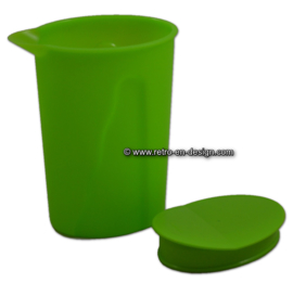 Vintage groene Tupperware Impressions sapkan / waterkan
