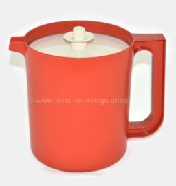 Vintage Tupperware pitcher or jug, low model