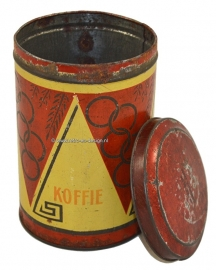 Vintage tin for Caffee by GLIM 1928 Olympic games