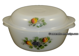 Round casserole Arcopal Fruits de France Ø 17,5 cm