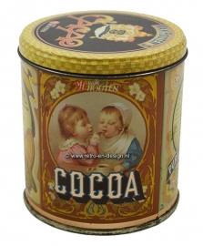 Vintage tin Van Houten Cacao/Cacoa