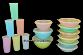 Tupperware Originales de época de década de los 60