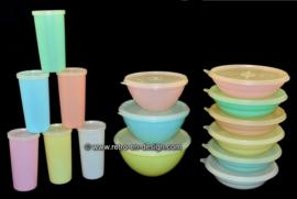 Original vintage Tupperware of the'60s