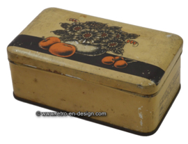 Vintage tin F.H.L. Fantasie gelei Commerciaal. Schuybroek Hoboken Anvers