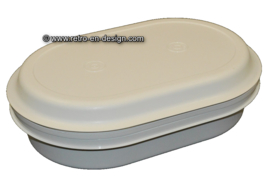 Vintage Tupperware oval serving tray