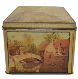 Vintage blik van Jacques Chocolaterie