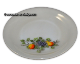 Assiette Arcopal, Fruits de France Ø 23 cm