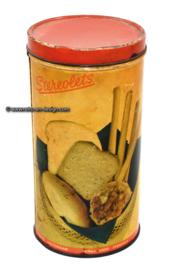 Vintage blik Stereolets, soepstengels