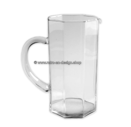 Glass Pitcher made by Arcoroc France, Luminarc Octime clear