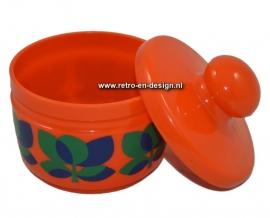 Vintage Emsa bowl with lid, bologna