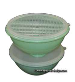 Tupperware combined colander and bowl
