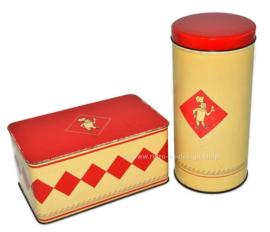 Set de latas vintage de Bolletje