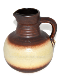 West-Germany earthenware jug or vase by Bay keramik, model 631-20