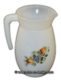 Jug or pitcher, Arcopal Fruits de France