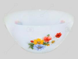 """Bol vintage avec motif fleuri """"Anémones"""" fabriqué par Arcopal France Ø 23,5 cm"""