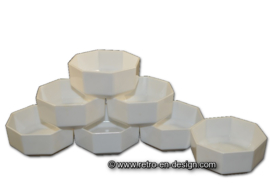 Dessertschale von Arcoroc France, Octime weiß Ø 11,5 cm