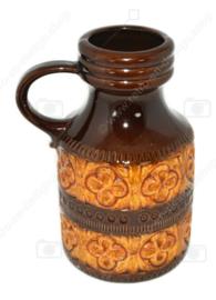 """Vintage Keramikvase von Schreurich Modell 489-23 mit """"Foligno"""" Dekor"""
