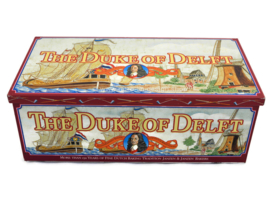 """Biscuit tin """"The Duke of Delft"""""""