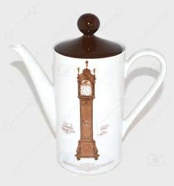 Nutroma Porzellan Kaffee- oder Teekanne von Mitterteich Porzellan (Uhrengeschirr)