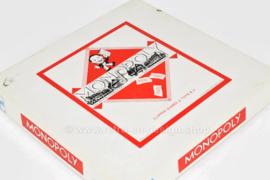 Vintage Monopoly spel uitgebracht door Clipper games & Toys BV