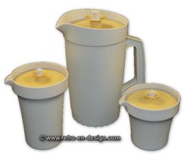Three-parted Vintage Tupperware pitcher set