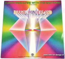 """12"""" Boogie Wonderland - Earth, Wind & Fire and The Emotions"""