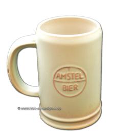 Aardewerk bierpul uit de jaren 60, Amstel Bier