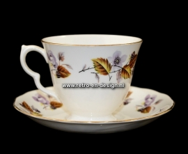"""Queen Anne"" Fine Bone China Cup and saucer"