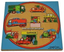 Simplex toys garage puzzle