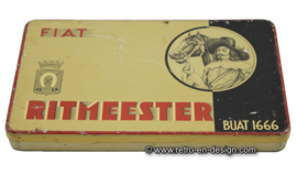 Vintage cigars tin Fiat Ritmeester, Buat 1666