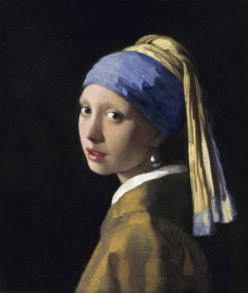 "Tin ""The Milkmaid - Girl with a Pearl Earring"" Johannes Vermeer"