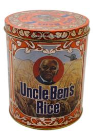 Vintage blik voor rijst 'Uncle Ben's Rice'