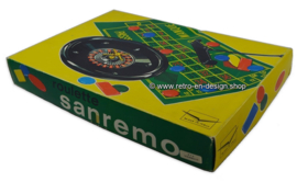Vintage Sanremo Roulette game, made in Italy