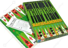 Vintage board game, Original Tric Trac Backgammon, Jumbo 1974