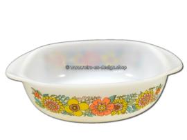 Jena glas ovenschaal met zomers bloemenpatroon