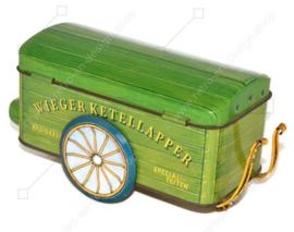 Authentischer Blechbäckerwagen von Wieger Ketellapper, wie er 1915 verwendet wurde