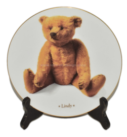 "Collectors Plate ""Lindy"" by DIE TEDDYBÄR Sammlerteller Edition"