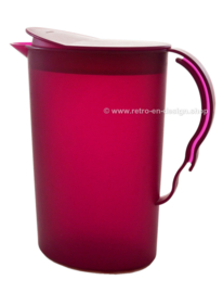 Tupperware Impressions water jug or pitcher, purple