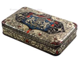 Lata vintage con escudo de armas holandés, Je maintiendrai