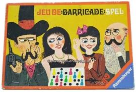 Baricade gezelschapsspel 1970 van Ravensburger