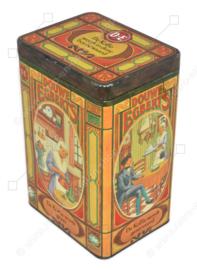 Boîte à café frisonne par Douwe Egberts avec des images nostalgiques