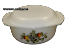 casserole / baking dish, Arcopal Fruits de France Ø 22 cm