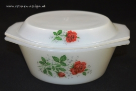 Cocotte Arcopal France decor Rose