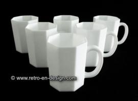 Mug Arcoroc France, Octime white