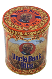 'Uncle Bens Rice' Vintage tin for storing rice