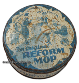"Vintage German tin ""Der original Reform Mop"""