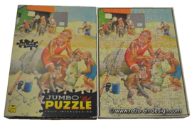 Vintage jaren 50 - 60 Jumbo jigsaw puzzle
