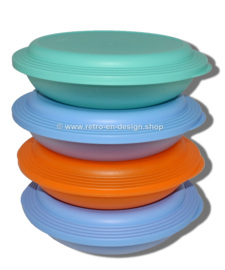 Set Tupperware Trendy Duette, borden/schalen 4 delig